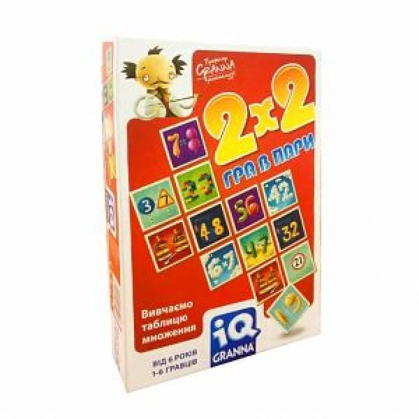 фото Карточная игра IQ 2х2 Игра в пары Granna - BVL 81497