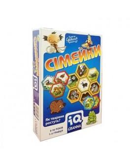 Карточная игра IQ Семейки Granna - pi 81503