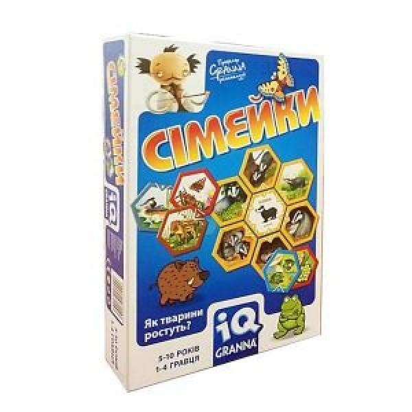 фото Карточная игра IQ Семейки Granna - pi 81503