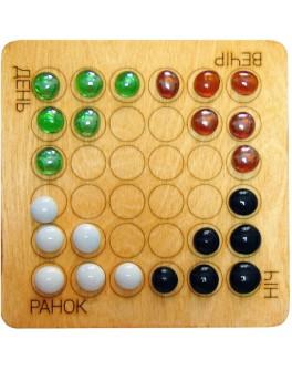 Настольная игра Шашки на четверых (Невские шашки) - kgol D016