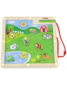 Деревянная игра Viga Toys Ферма (50193) - afk 50193