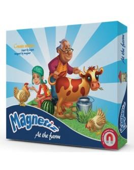 Игра на магнитах На ферме, Magnetiz - INB Маg 10