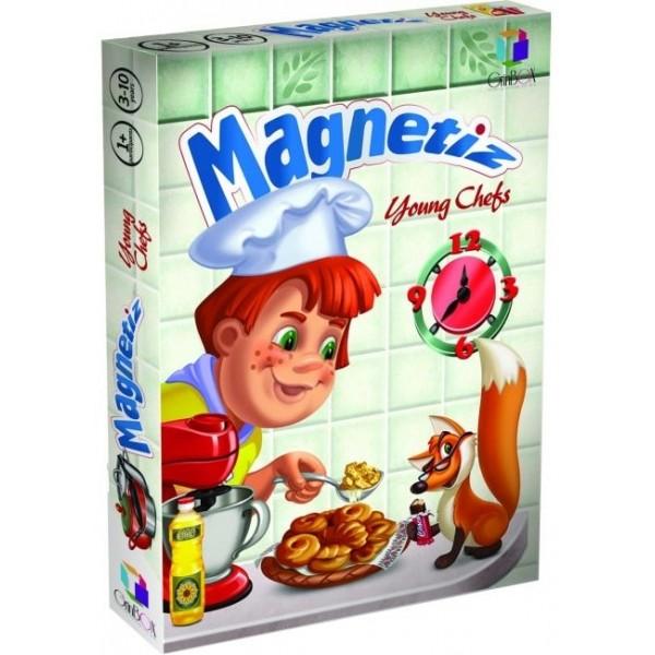 фото Игра на магнитах Юные шеф-повара, Magnetiz (без доски) - INB Маg 3