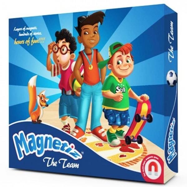 фото Игра на магнитах Команда, Magnetiz - INB Маg 5