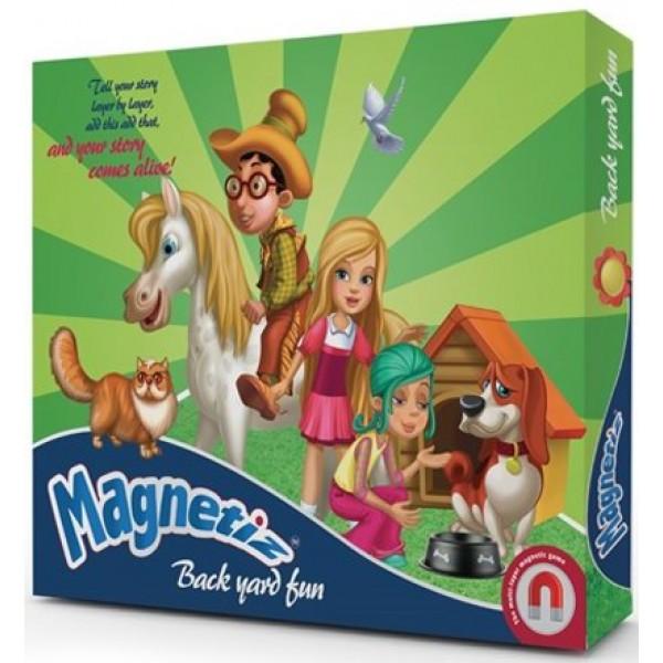 фото Игра на магнитах На заднем дворе, Magnetiz - INB Маg 9