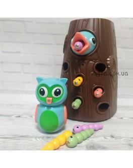 Дитяча магнітна гра Limo Toy Нагодуй пташеня совеня (FT 0017)