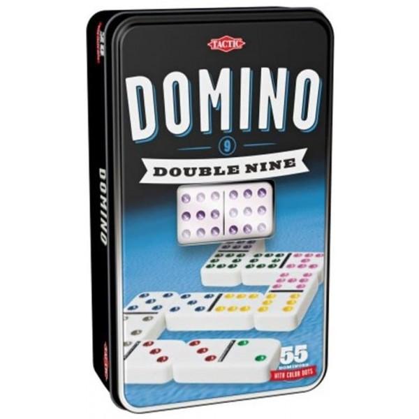 Настольная игра Tactic Домино дубль 9 (53914) - BVL 53914
