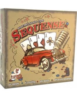 Настільна розважальна гра Strateg Sequence (30361)