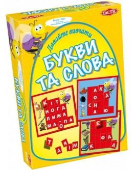 Настольная игра Tactic Давайте изучать буквы и слова (40301) - BVL 40301