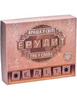 Настольная игра Эрудит-элит. Украинская версия Arial (20448)