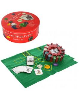 Набор для игры в покер 240 фишек THS-154