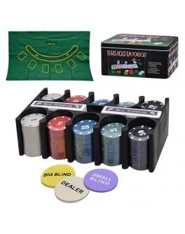 Набор для игры в покер 300 фишек 3896 B - mpl 3896 B