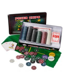 Набор для игры в покер 300 фишек M 2776
