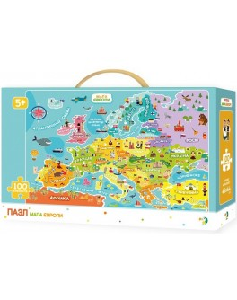 Пазл DoDo Карта Европы (300129) - dodo 300129