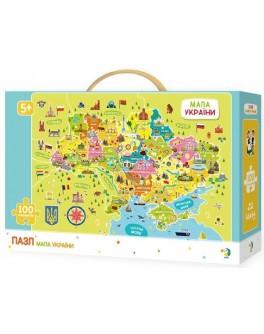 Пазл DoDo Карта Украины (300109) - dodo 300109