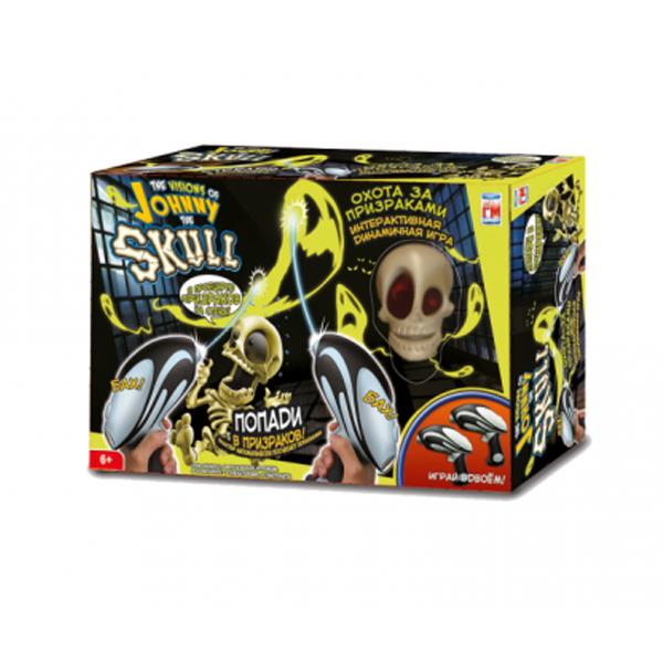 Игра Джонни Скелетон Johnny The Skull с двумя пистолетами