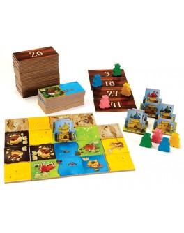 Настольная игра Лоскутное королевство (Kingdomino) - Kingdomino