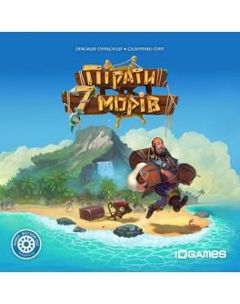 Настольная игра Пірати 7 морів (Pirates of the 7 seas) - dtg 2112