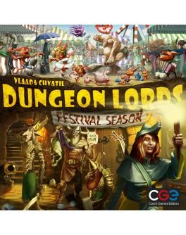 Настольная игра Лорды Подземелий: Фестивальный сезон (Dungeon Lords: Festival Season)
