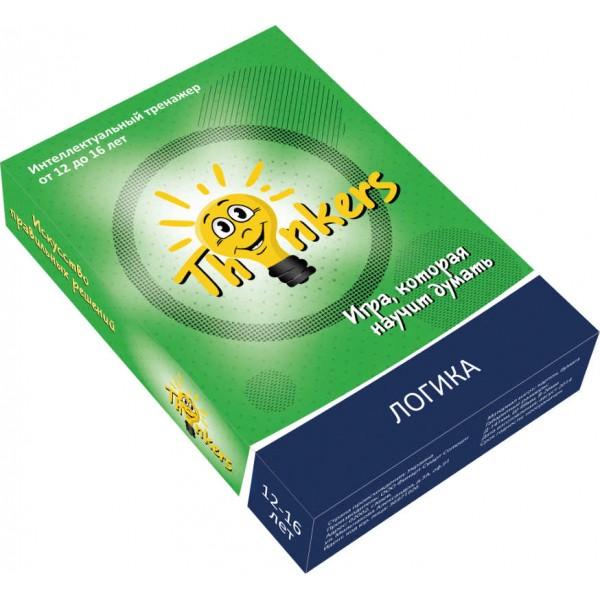 игра для развития интеллекта Thinkers 12-16 лет Логика