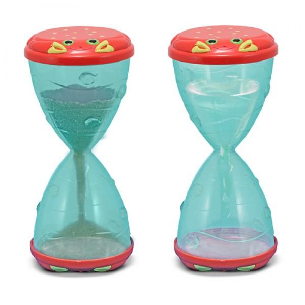 песочные часы и водные часы детские мистер краб Melissa Doug