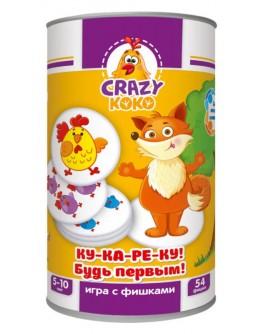 Игра с фишками Vladi Toys Ку-ка-ре-ку! Будь первым! (VT8020-04) - ves VT8020-04
