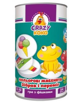Игра с фишками Vladi Toys Цветные лягушата (VT8020-02) - ves VT8020-02
