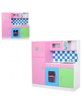 Детская большая кухня деревянная (MD 1208) - mpl MD 1208