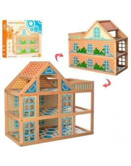 Домик для кукол деревянный  (MD 1239) - mpl MD 1239