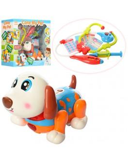 Игрушечная музыкальная Собака с набором доктора (11032)