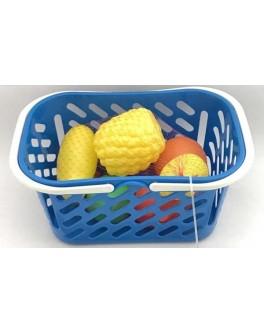 Корзинка с фруктами, 8 предметов Kinderway (04-453)