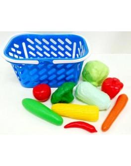 Корзинка с овощами, 9 предметов Kinderway (04-454) - mlt 04-454