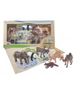 Обучающий игровой набор с QR-картой Wenno Животные Азии (WAS1701)