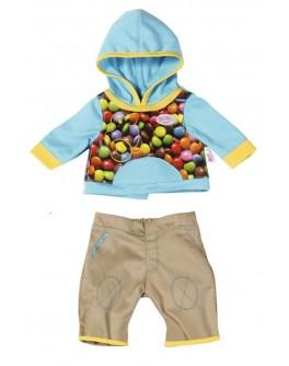 Набор одежды для куклы BABY BORN - СПОРТИВНЫЙ МАЛЫШ - KDS 821411