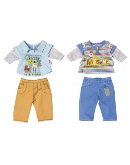 Набор одежды для куклы BABY BORN - СПОРТИВНЫЙ МАЛЫШ (2 в ассорт.) - KDS 822197