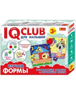 Учебные пазлы. Изучаем формы. IQ-club для малышей Ranok Creative - RK 13152042Р