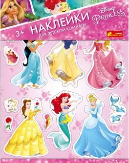 Наклейки для детской Принцессы Диснея Ranok Creative