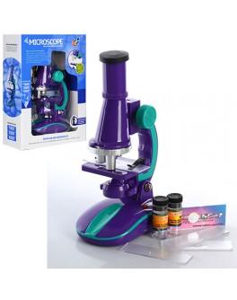 Игровой набор Qunxing Toys Микроскоп со светом Юный профессор (C2127) - mpl C2127