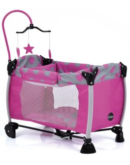 Кровать-манеж для куклы I'coo Starlight (D90648) - mpl D90648