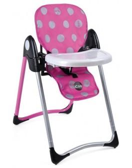 Кукольный стульчик для кормления I'coo Deluxe High Chair (D93148)