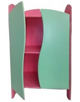 Шкафчик 40 см для кукольной одежды Цветной ЧудиСам - alb Ш080