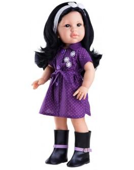 Кукла Paola Reina Лина в фиолетовом 42 см (06012) - kklab 06012