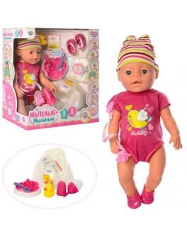 Кукла Baby Born в розовом бодике с птичкой (8199)