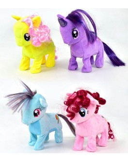 Интерактивная мягкая игрушка Пони ходит издает звуки - igs 65756