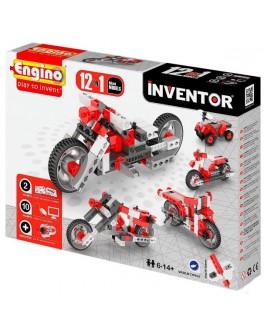 Конструктор Engino Inventor 12 в 1 Мотоциклы, 119 эл. - kds 1232