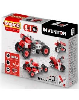 Конструктор Engino Inventor 4 в 1 Мотоциклы, 51 эл. - kds 0432