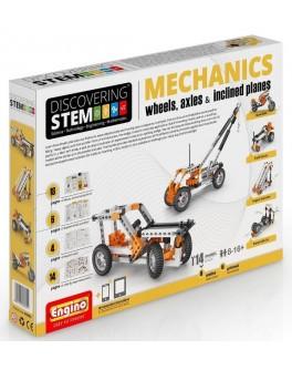 Конструктор Engino STEM - Механика: колеса, оси и наклонные плоскости - kds stem02