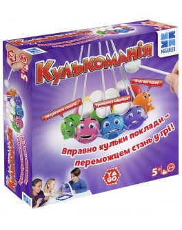 Настольная игра Шаромания (Кулькоманія)