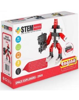 Конструктор Engino STEM HEROES: Исследование космоса: Зевс - KDS SH22