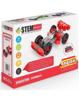 Конструктор Engino STEM HEROES: Спортивные автомобили: формула - KDS SH31